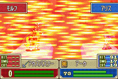 Fire Emblem - FE7if - Battle  - your done - User Screenshot